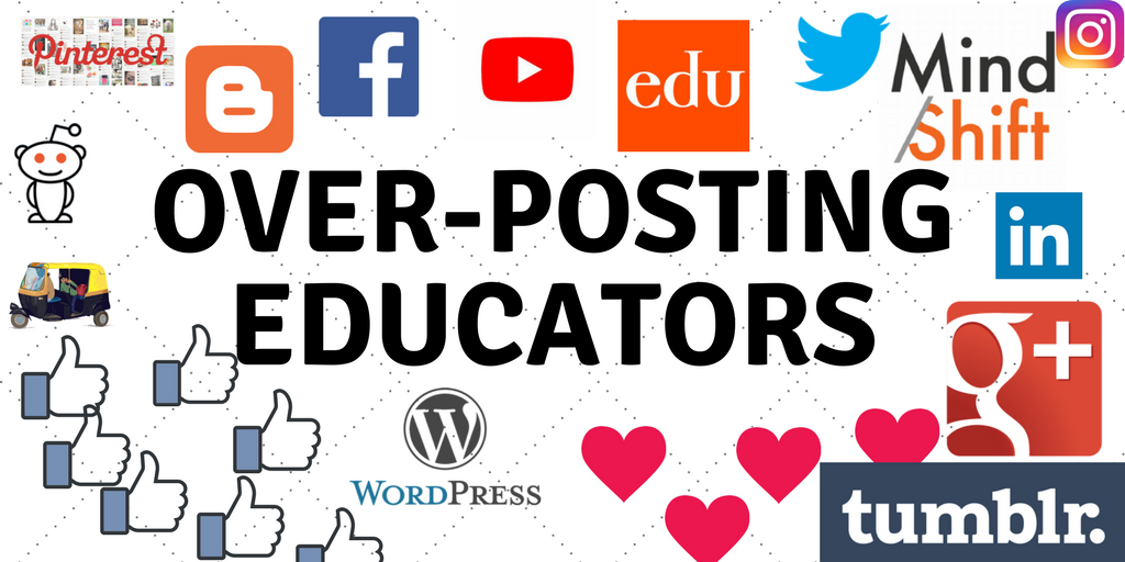 Join Our Facebook Group: Over-Posting Educators – Education